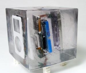 iPod Aufriss gefroren