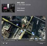 Geodaten eines Bildes in iPhoto