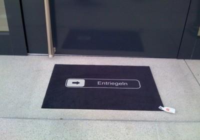 Die iPhone-Fußmatte