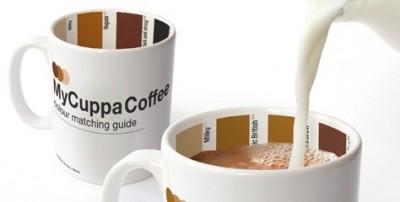 Die Pantone-Kaffeetasse