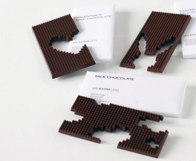 Pixel-Schokolade