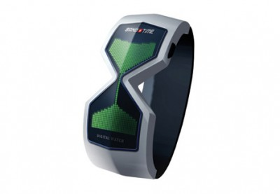 Die digitale Sanduhr fürs Handgelenk