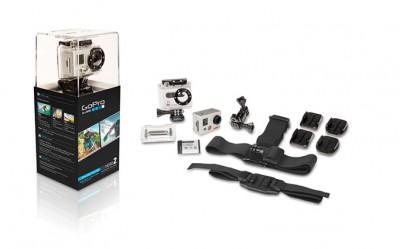 Helmkamera GoPro HD HERO2 Outdoor Edition mit Zubehör